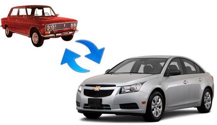 обмен авто